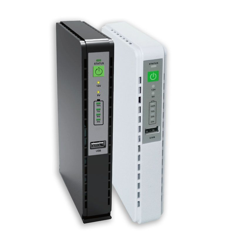ECO DC Mini UPS Power Supply, 8800mAh Lithium battery, 24W