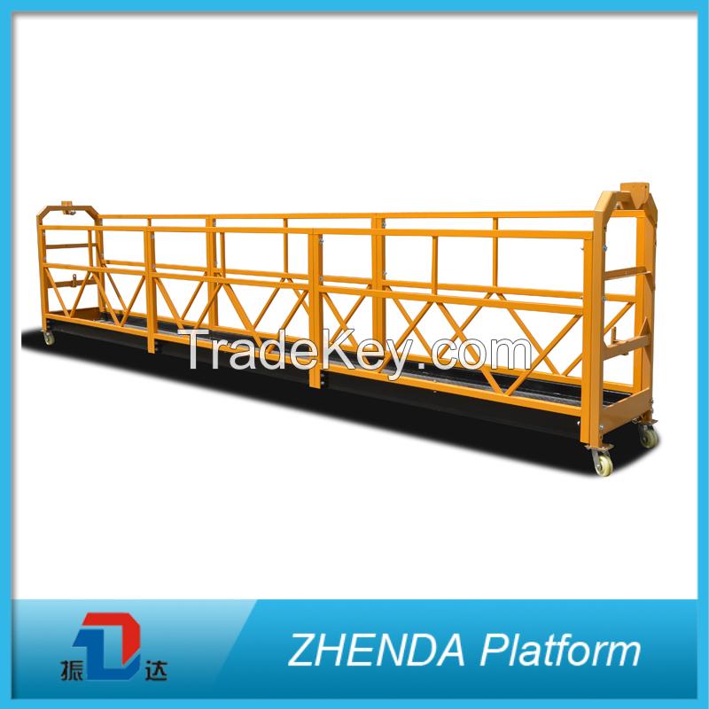 Zhenda Factory Sale Working Platform Zlp Series Suspended Platform