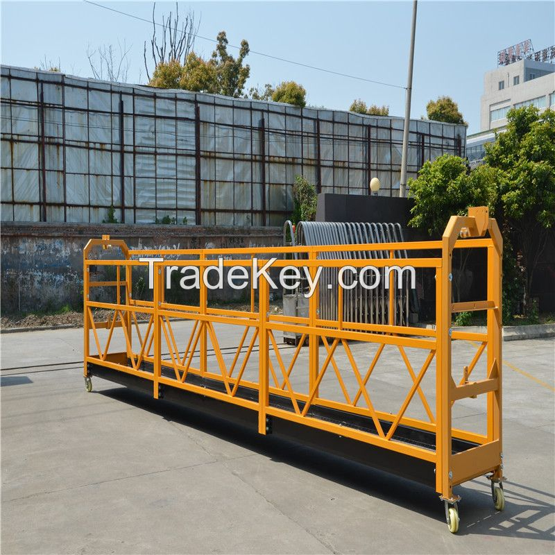 2016 Customer Required ZLP500 STEEL Construction Suspended Platform