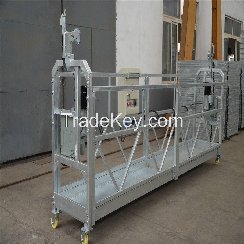 Hot Sale ZLP630 Working Suspended Platform Aluminum Platform