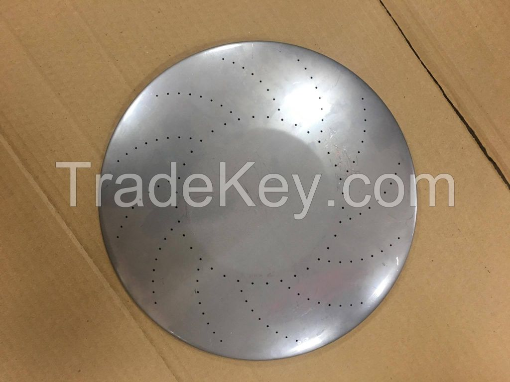 Round stainless steel burner