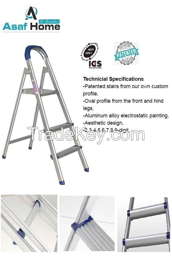 Profile step ladder