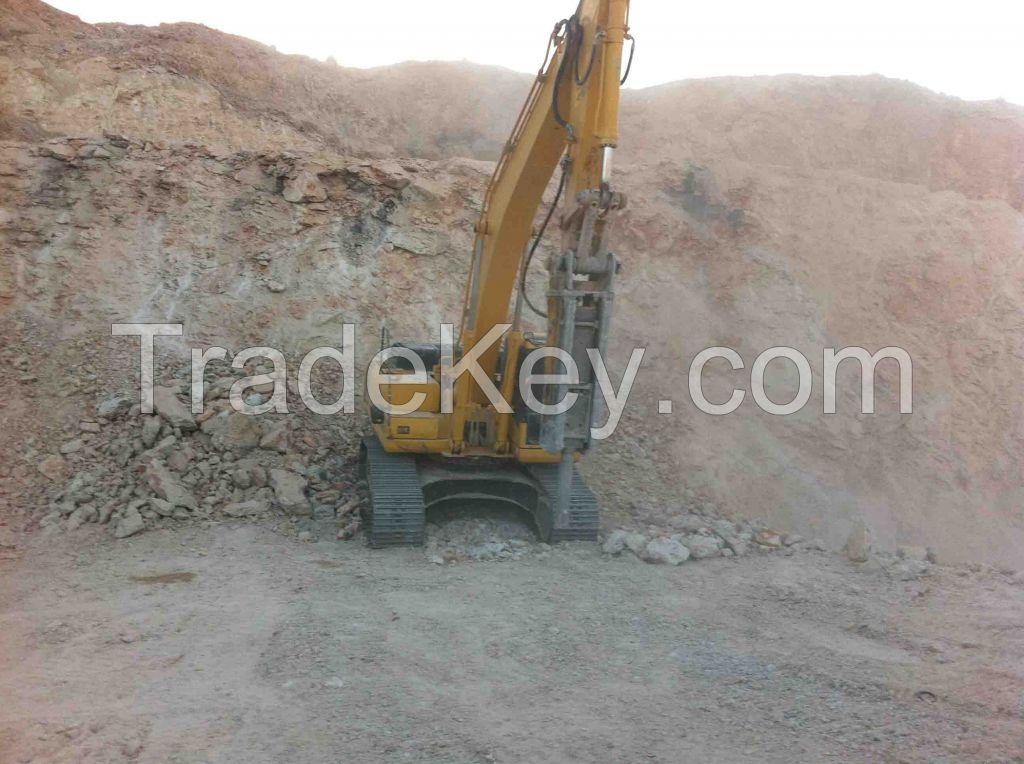 Silica sand, Kaolin, Feldspar potsh or sodic, Quartz, Limestone lump, clays, Quartizite, Calcite, Barite, Iron ore