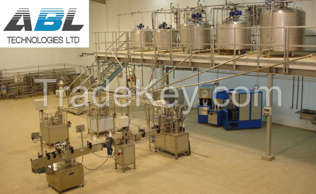 Complete Milk Processing Line