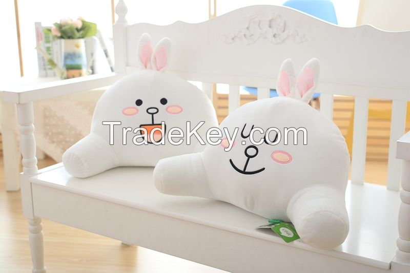 Cute plush toys plush cushion