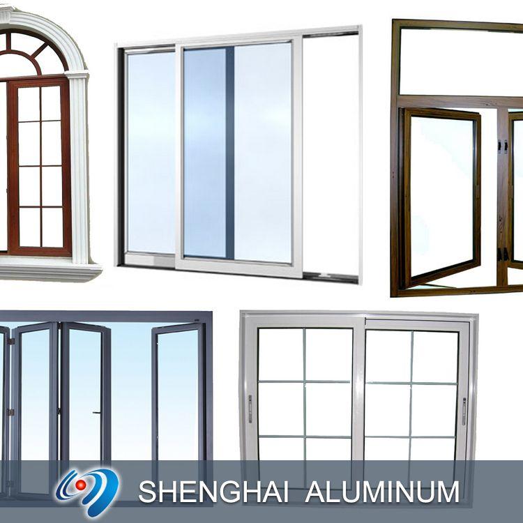 aluminum frames for door and window