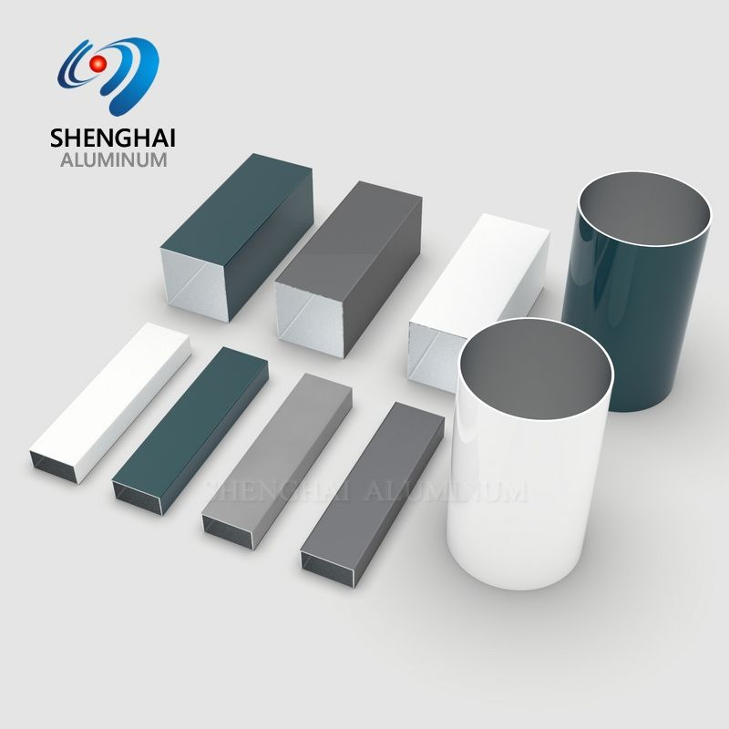 Alloy 6063 6061 T5-T6 Aluminum Pipe and Tube Customized Sizes