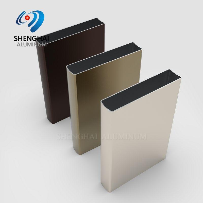 ALUMINIUM in Stock Aluminum Profile For Kitchen Cabinet Aluminium Frame Sliding Wardrobe Door Frame