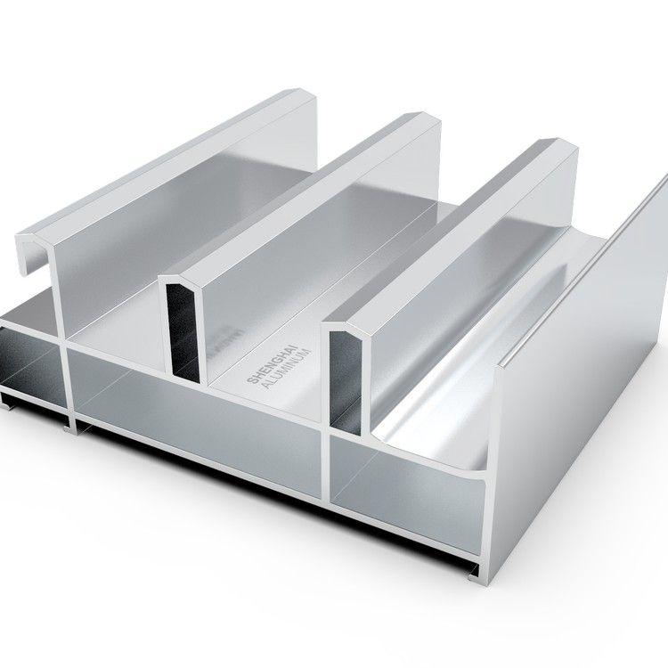 Shenghai West Africa extruded aluminum profiles aluminium doors and windows