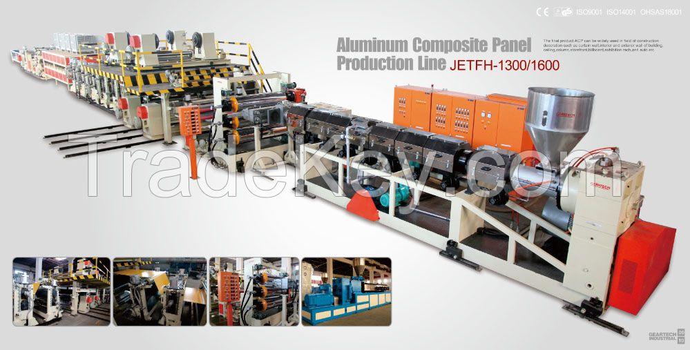 aluminum composite panel production line