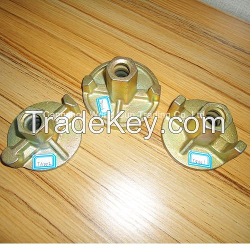 Formwork accessories wing nut tie nut round nut for 15mm/17mm