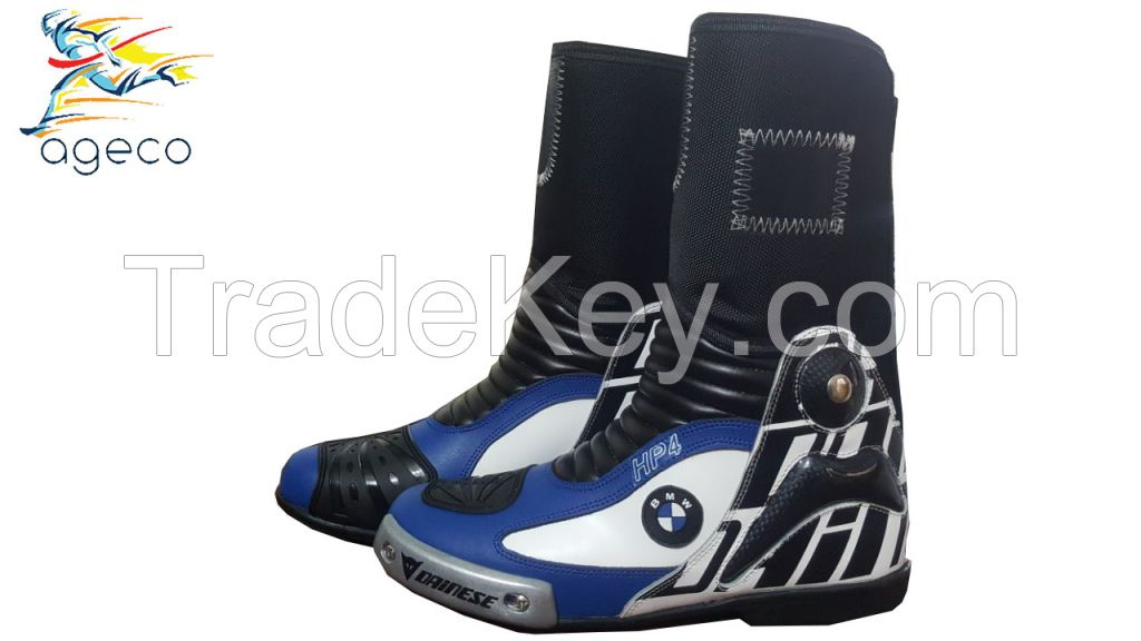 Bmw Motorbike Leather Shoes Motorcycle Racing leather boots