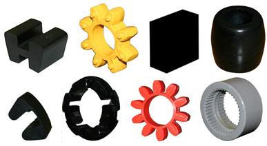 Rubber Parts for flexible couplings