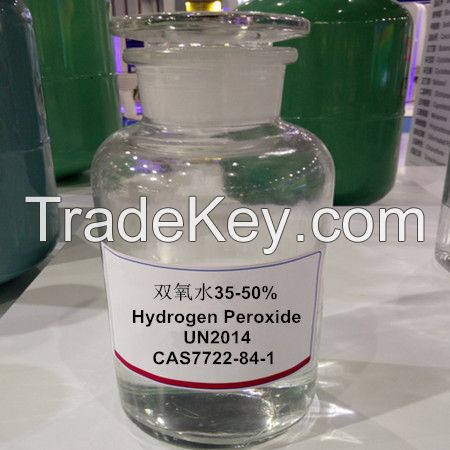 China hydrogen peroxide manufacturer 35-50%