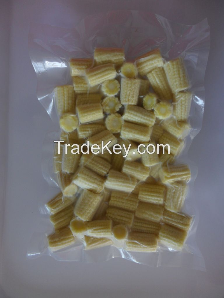 Frozen baby corn whole from Viet Nam
