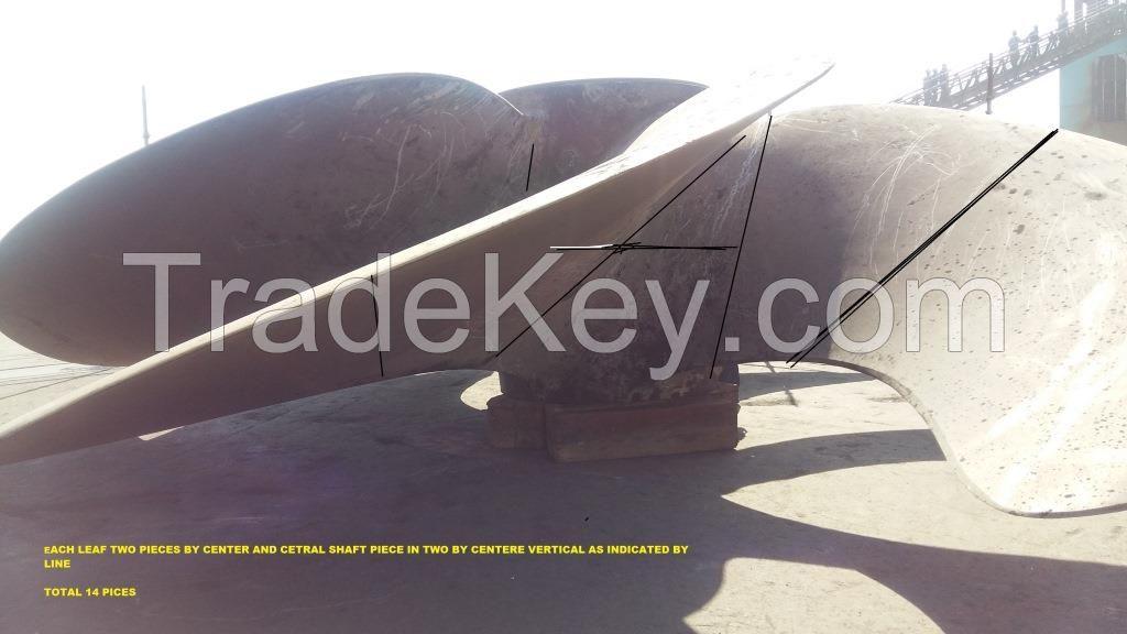 Scrap Ni Al Br Propellers for Sale