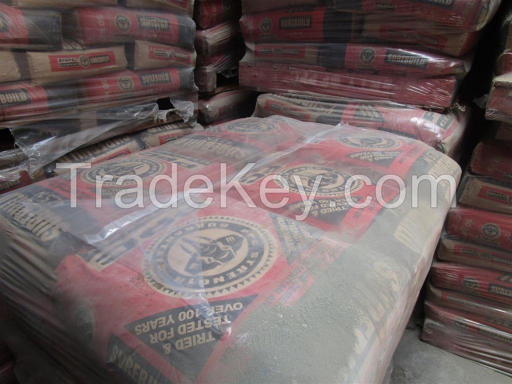 PPC Cement 32.5, 42.5, 52.5 supplier