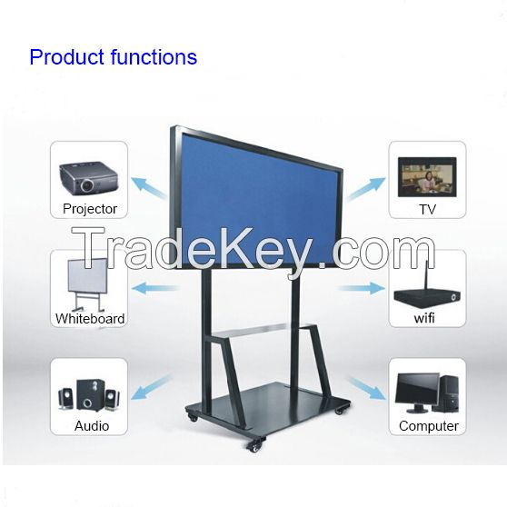 Hot sale screen touch Electric Whiteboard, School/Meeting room wall mounted Whiteboard displayer