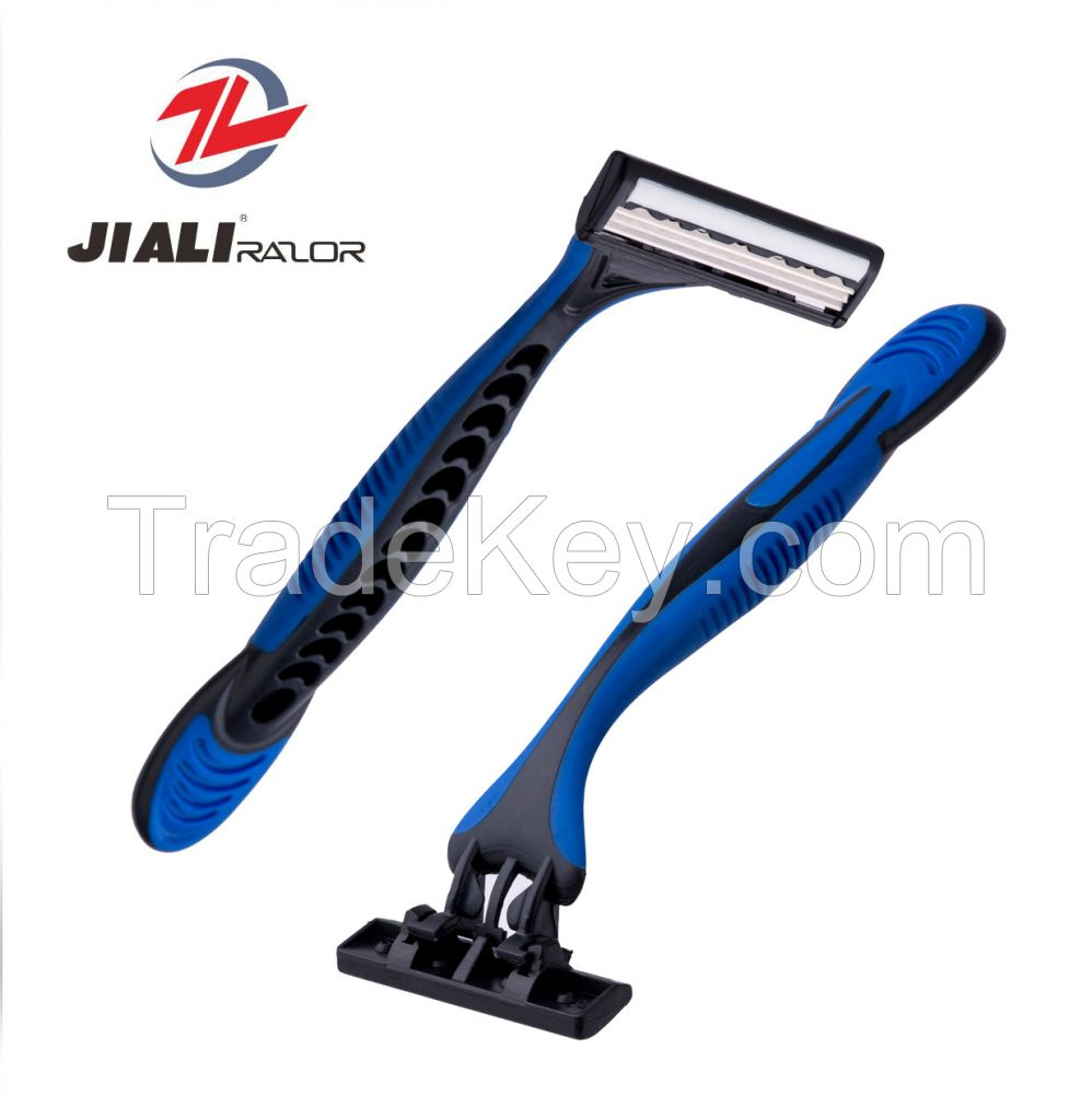 High Quality Disposable triple Blade Razor