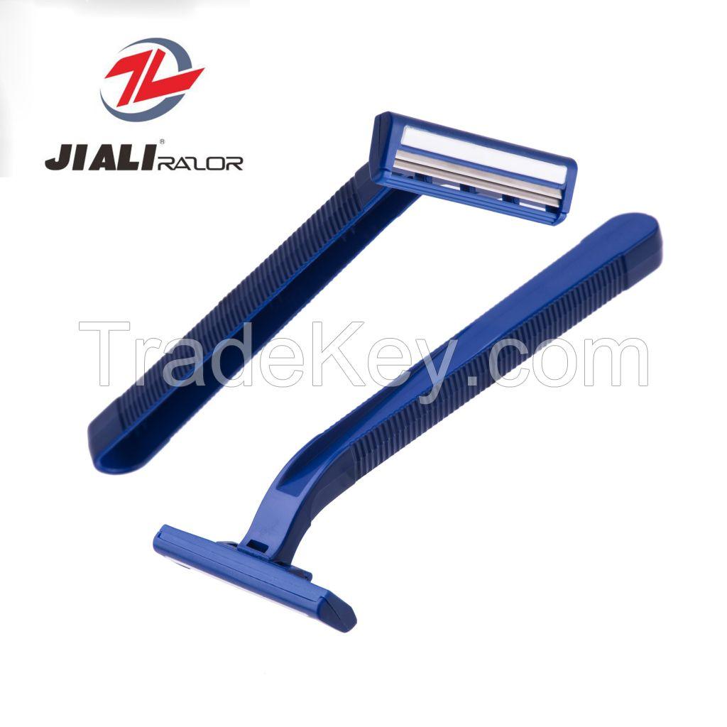 Twin blade Sweden Stainless Steel Shaving Razor disposable