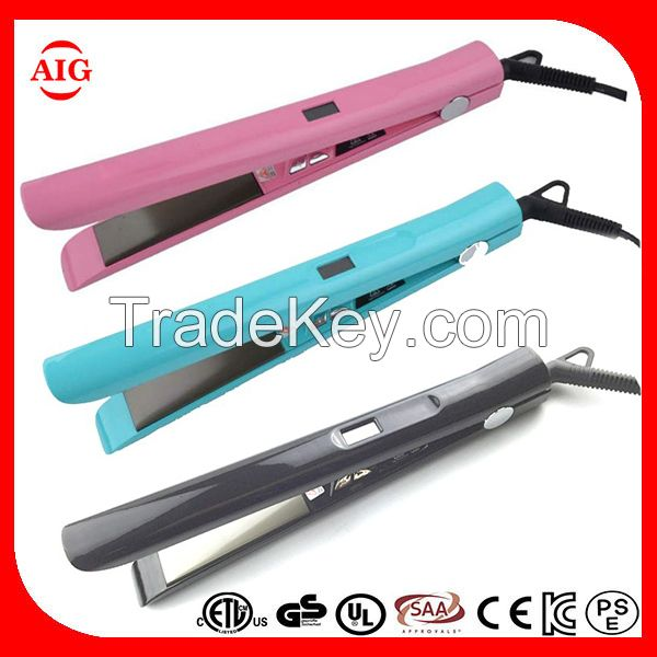 Professional Fast Heating Titanium Flat Iron Hair Straightener