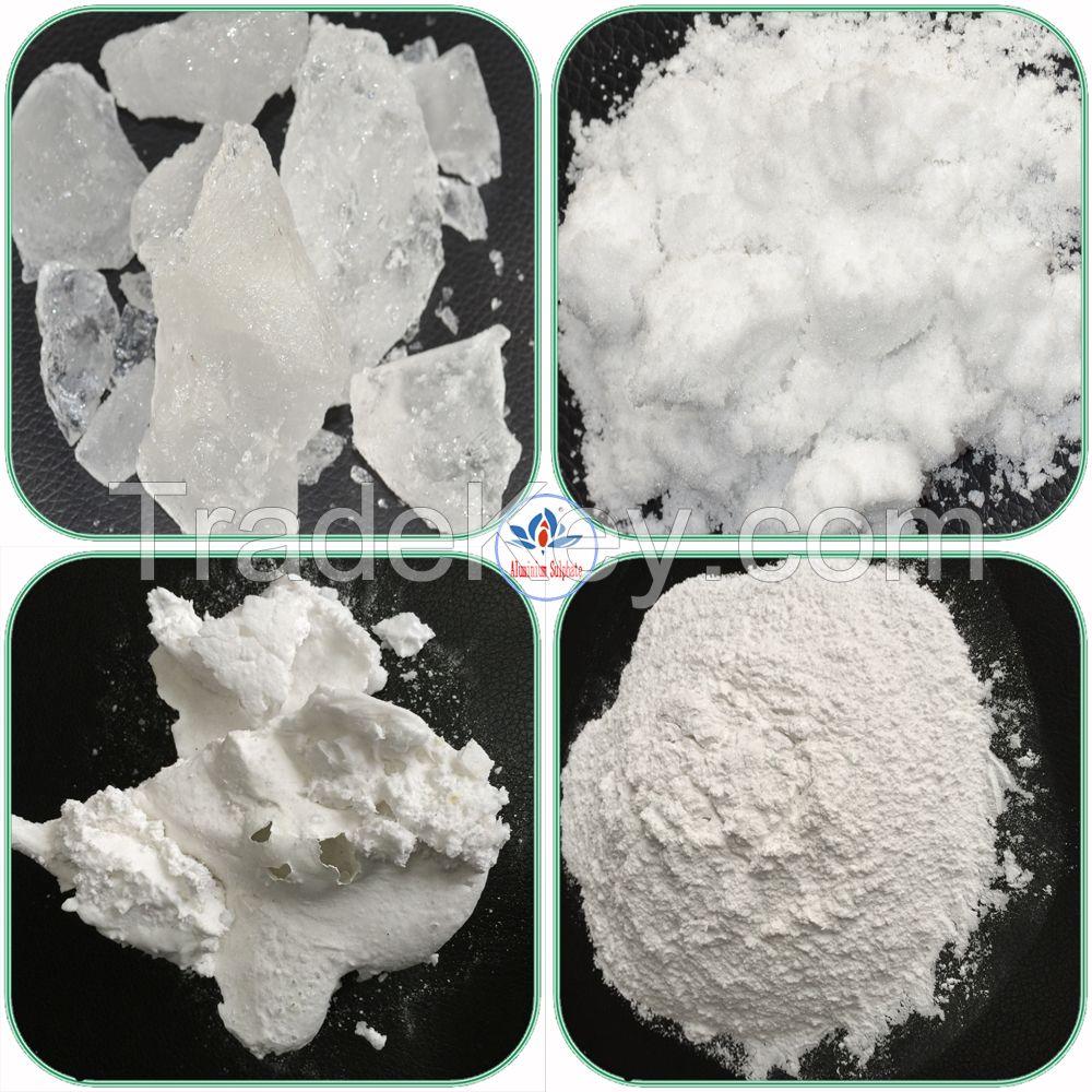 water treatment chemicals powder potassium alum/potassium aluminum sulphate