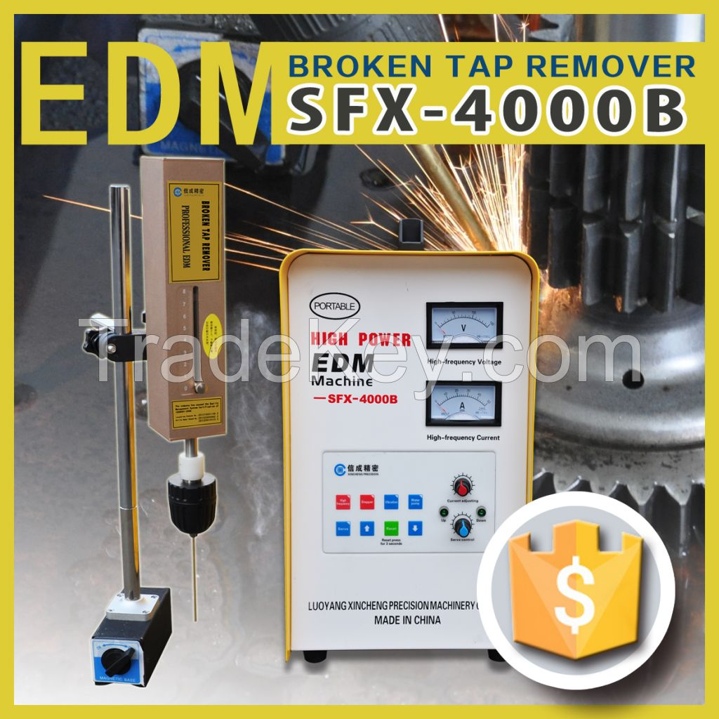 High power broken tap remover