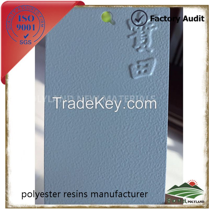 Polyester resin as raw materials of powder coating