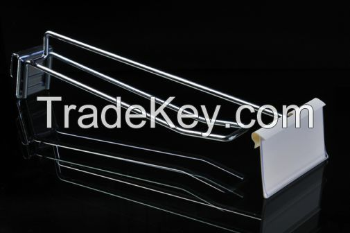 Display hanging hooks for supermarket, retail stores