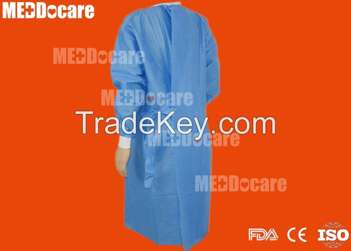Hospital Medical Sterilized Disposable Scrubs Surgeon Surgical Gown