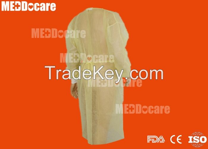 Disposable Medical Patient Nurse Gown Isolation Gowns