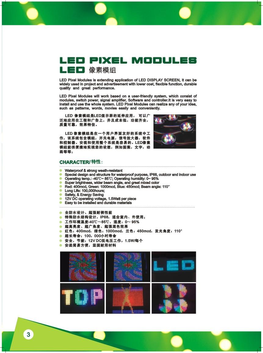 LED Pixel Modules
