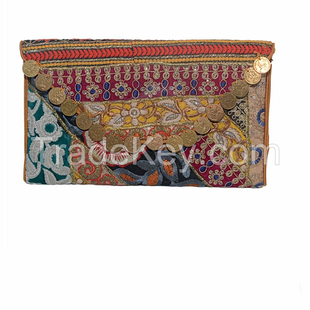 TRADITIONAL EMBROIDERY CLUTCHES