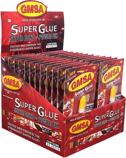 GMSA Super Glue (Red Box)
