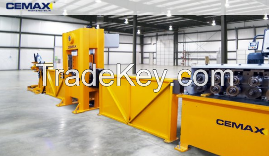 Angle bead profiles production lines