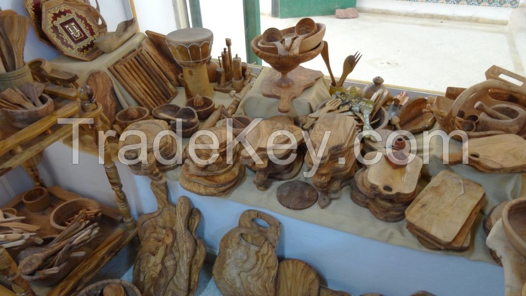 olive wood boards handmade