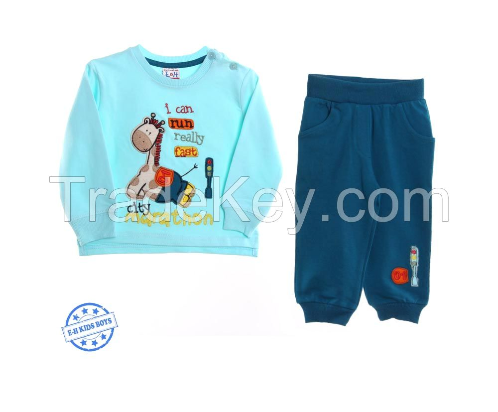 Breeze boy top and bottom sets