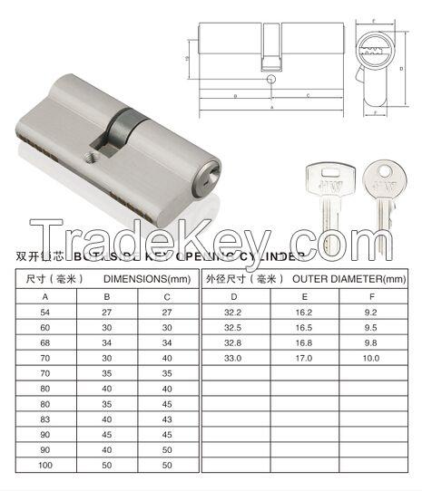 Cylinder , brass cylinder  , iron cylinder , Anti-theft Cylinder