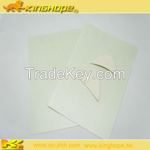 Chemical Sheet with Hot Melt adhesive for Toe Puff and Shoes Counter Materials