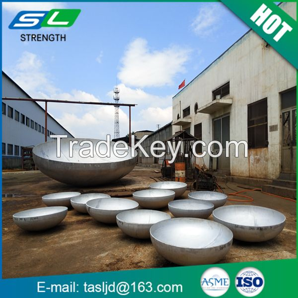 2000mm diameter various shape sa516gr70 material dished head for pressure