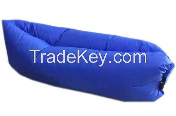Outdoor activity waterproof inflatable air lounge use in beach and swi