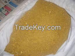Gold dust powder