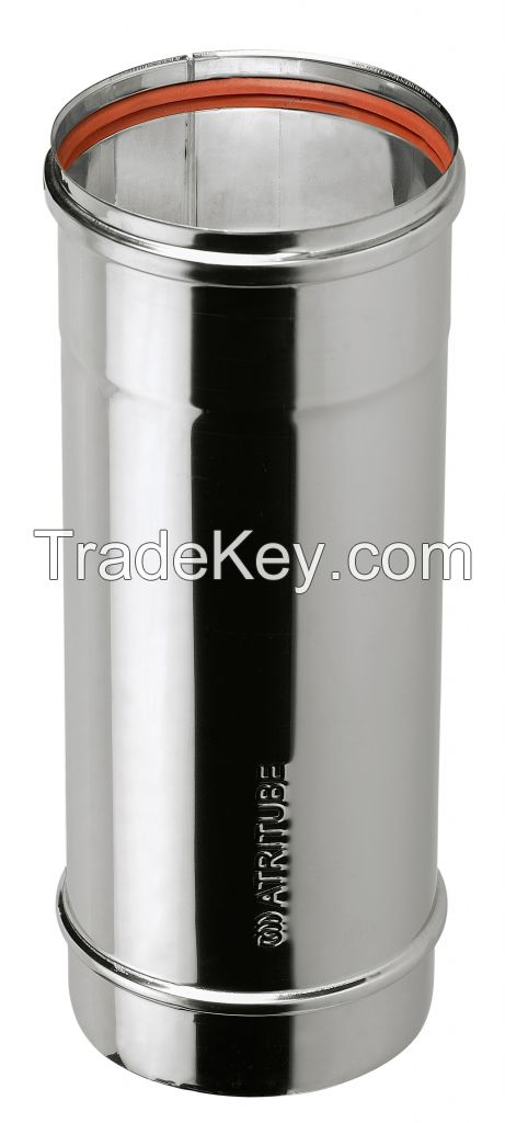 Chimney Flue Pipe, Tube - Single Wall Stainless Steel AISI 304/316L