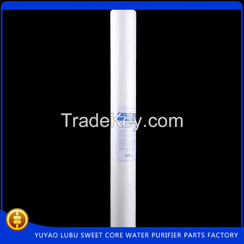 """New design 20 """"5.0 micron PP filter for ro system"""