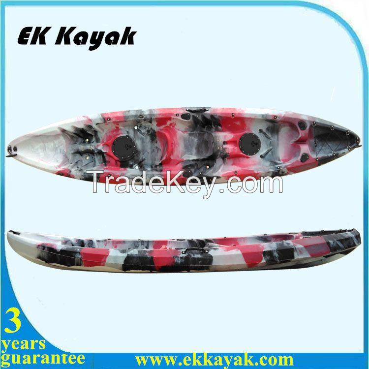 Retomolded Plastic double  Fishing Kayak