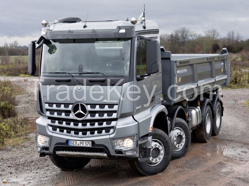 MERCEDES BENZ V3 8x4 HEAVY DUTY DUMP TRUCKS