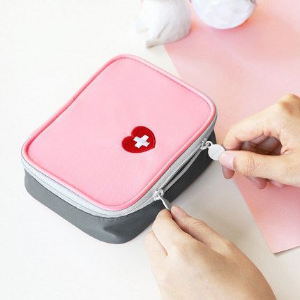 Travel First Aid  Bag Family Medical Kit Bag  Travel Medicine Bag
