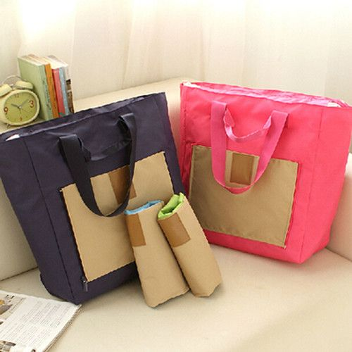 Factory Supplying Large Capacity Travel Foldable Bag Shopping Bag Travel Organizer