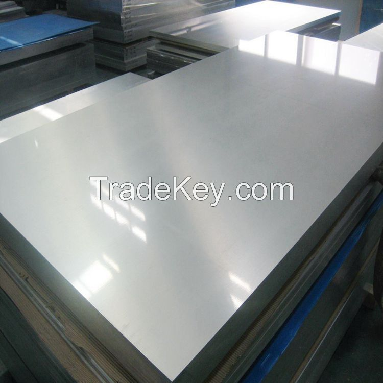 China alloy metal aluminum plate/sheet 6061/7075/5754/3003 in stock with cost price