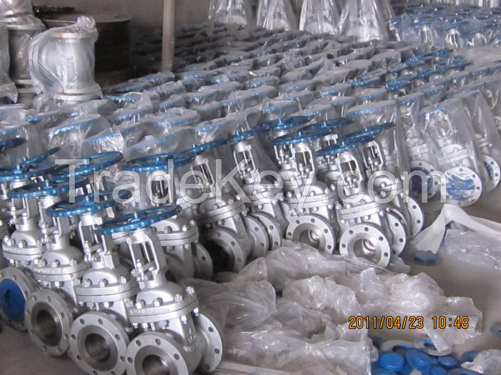 Manual Rising Stem Cast Steel WCB Gate Valves